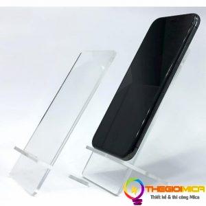 Kệ Mica trưng bày điện thoại 4